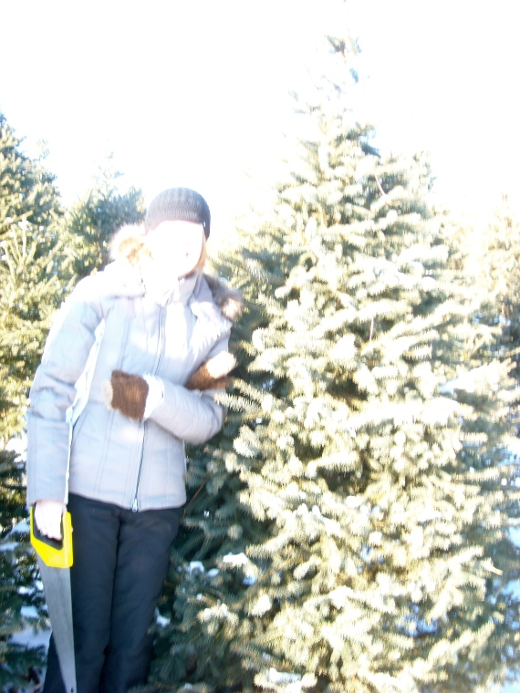 Faceless Me with the Tree